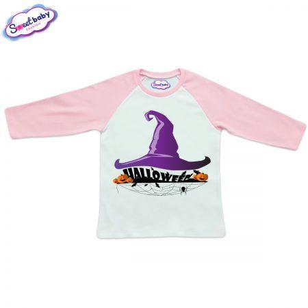 Детска блуза в розово Halloweenshapka