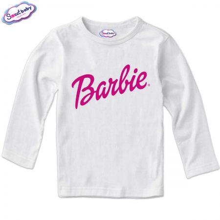 Детска блузка в бяло Barbie