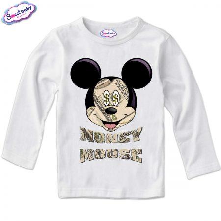 Детска блузка в бяло Moneymouse