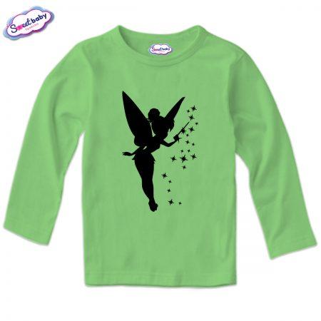 Детска блузка в зелено ФеичкаHalloween