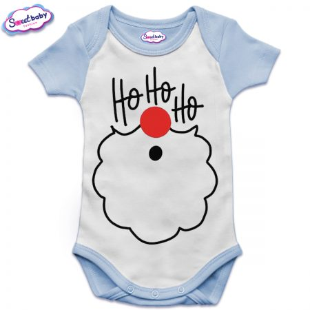Бебешко боди US в синьо ХоХоХо