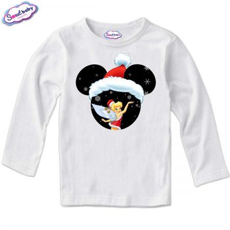 Детска блузка в бяло Маусфеичка