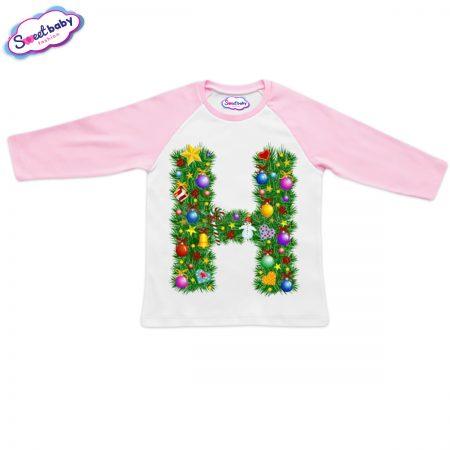 Детска блузка розово Н Коледа