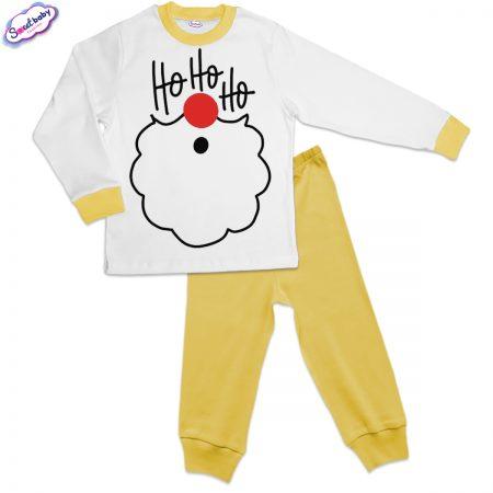 Детска пижама в жълто ХоХоХо
