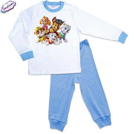 Детска пижама в синьо Patrol geroi