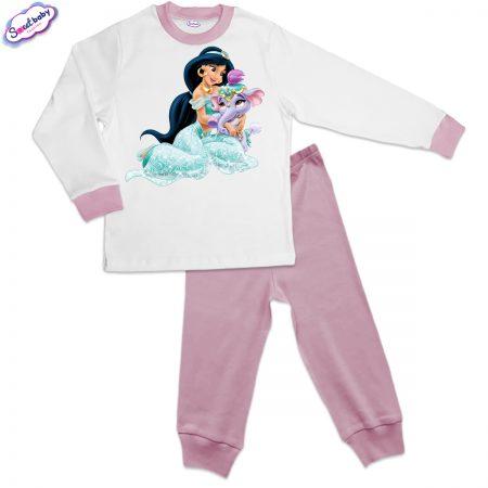 Детска пижама розово Ясмин и слонче