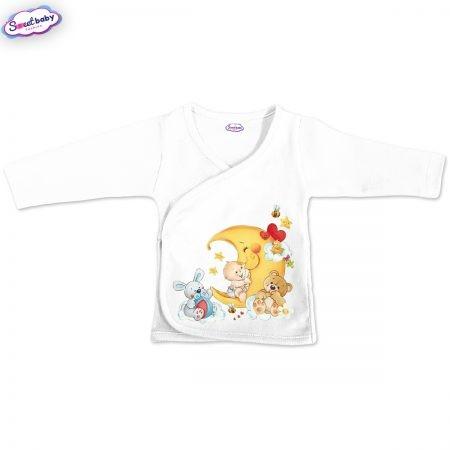 Бебешка камизолка в бяло Бебешки сънища