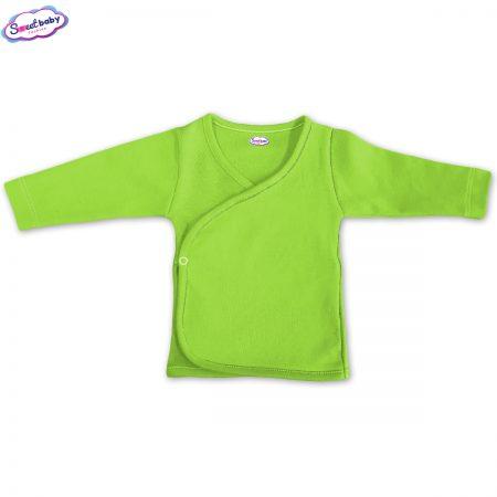 Бебешка камизолка зелено