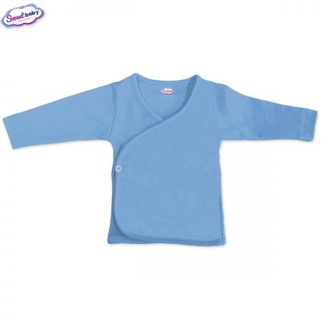 Бебешка камизолка синьо