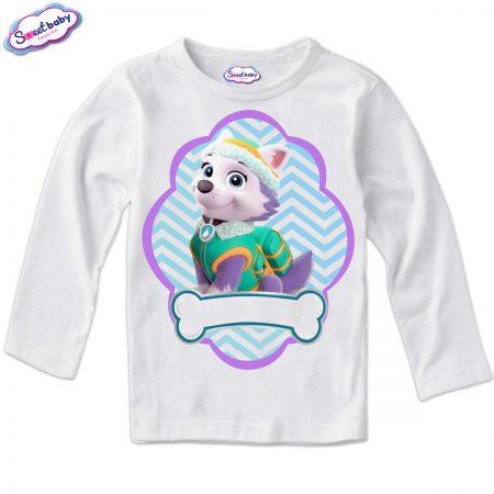 Детска блуза в бяло Еверест