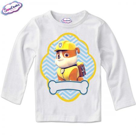 Детска блуза в бяло Руби