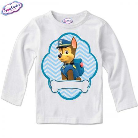Детска блуза в бяло Чейс