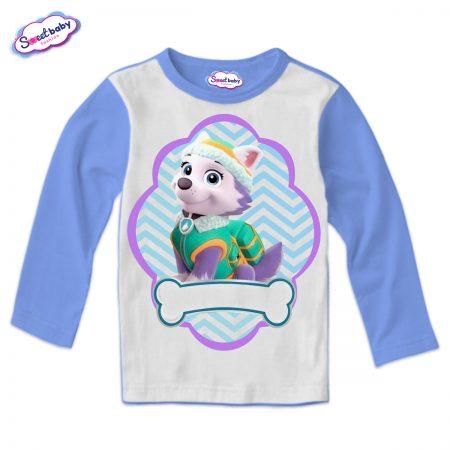 Детска блуза синьо и бяло Еверест