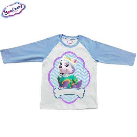 Детска блузка синьо и бяло Еверест