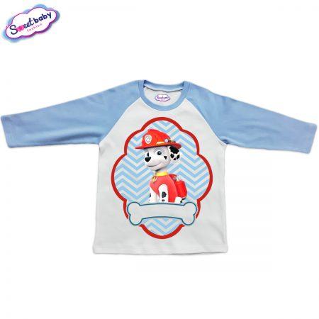 Детска блузка синьо и бяло Маршал