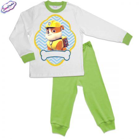 Детска пижама в зелено Руби