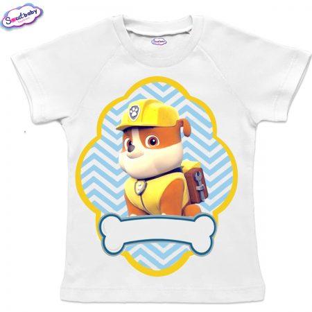 Детска тениска Руби реглан ръкав