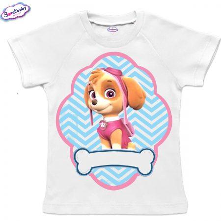 Детска тениска Скай с реглан ръкав