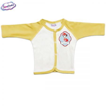 Бебешка жилетка в жълто Маршал