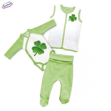 Бебешки зелен сет Детелинка