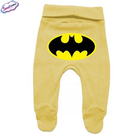 Бебешки ританки в жълто Батман