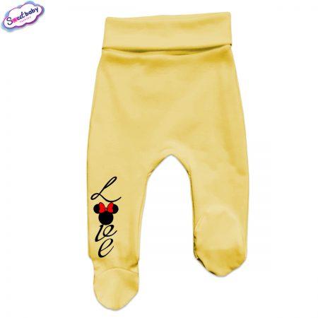 Бебешки ританки в жълто Loove