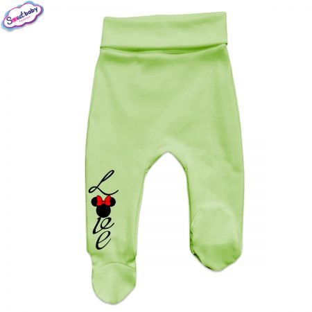 Бебешки ританки в зелено Loove