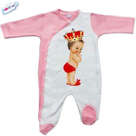 Бебешко гащеризон в розово Babyqueen