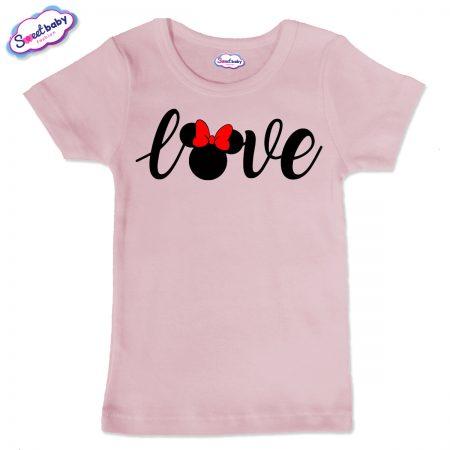 Детска тениска в розово Grandma