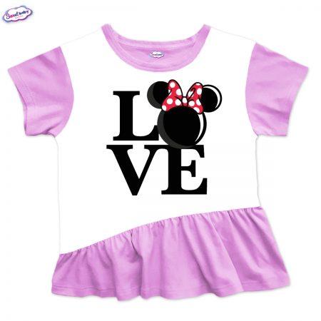 Детска туника с харбала розово Lovee