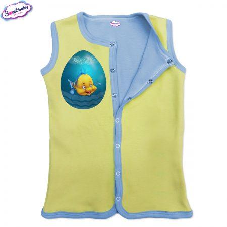 Бебешко елече Немо яйце жълто синьо