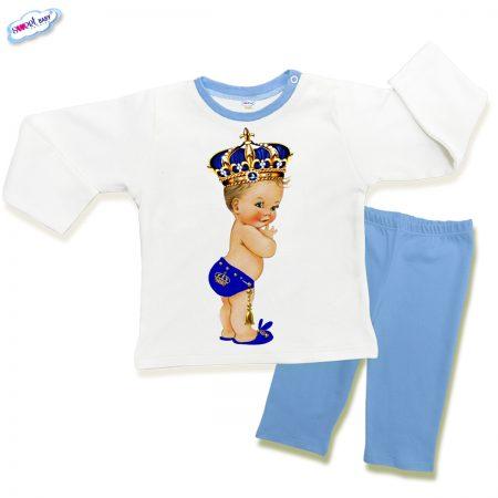 Детска пижама Babyking в синьо