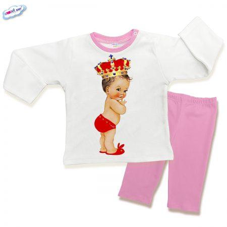 Детска пижама Babyqueen в розово
