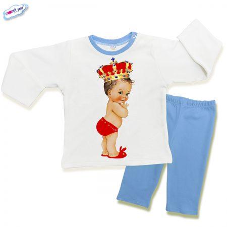 Детска пижама Babyqueen в синьо