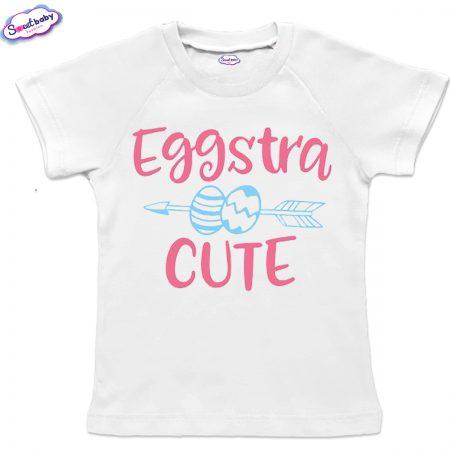 Детска тениска Eggstra реглан ръкав
