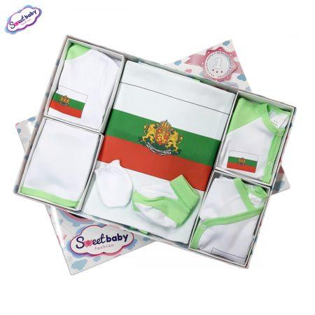 Комплект за изписване зелен Българско знаме 1