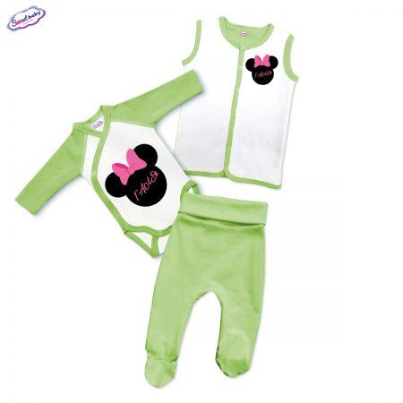 Бебешки сет Галя в зелено