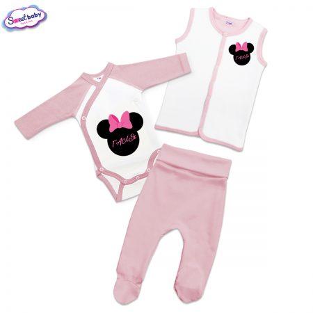 Бебешки сет Галя в розово