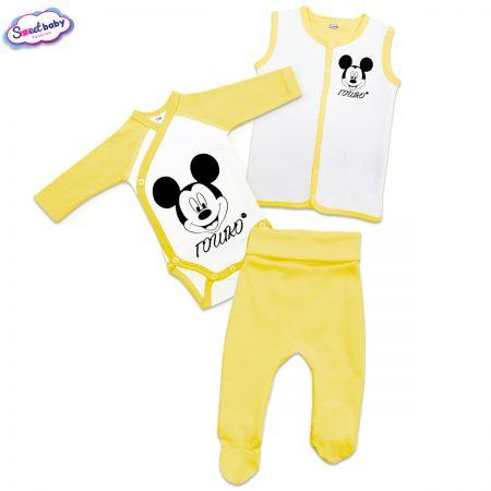 Бебешки сет Гошко М в жълто