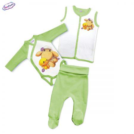 Бебешки сет Милички зелено и бяло
