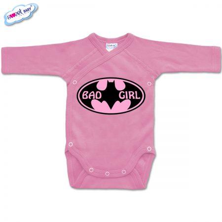 Бебешко боди BadGirl в розово