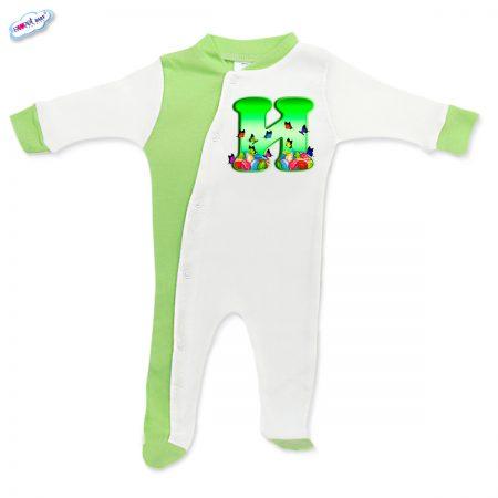 Бебешко гащеризонче Великден И в зелено
