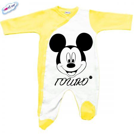 Бебешко гащеризон Гошко М в жълто