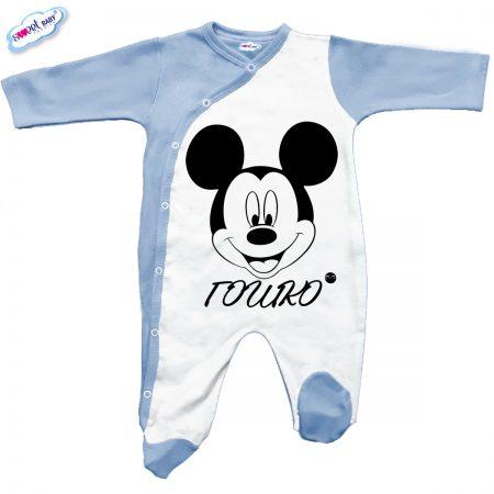 Бебешко гащеризон Гошко М в синьо