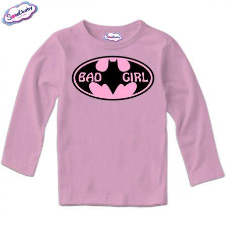 Детска блуза Badgirl в розово