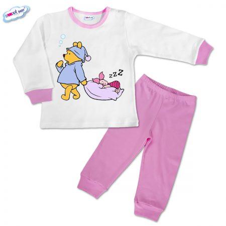 Детска пижамка Сладък сън в розово