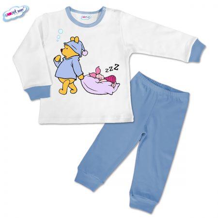 Детска пижамка Сладък сън в синьо