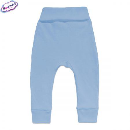 Бебешки ританки с маншети в синьо