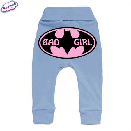 Бебешки ританки BadGirl маншет синьо гръб