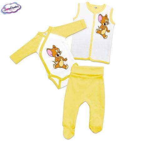Бебешки сет Джери в жълто